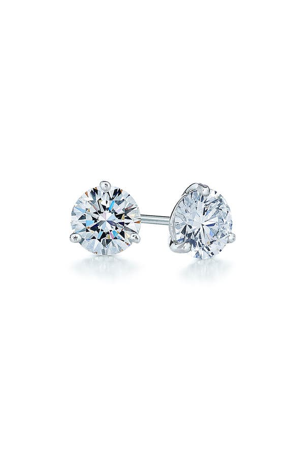 Alternate Image 1 Selected - Kwiat 0.25ct tw Diamond & Platinum Stud Earrings