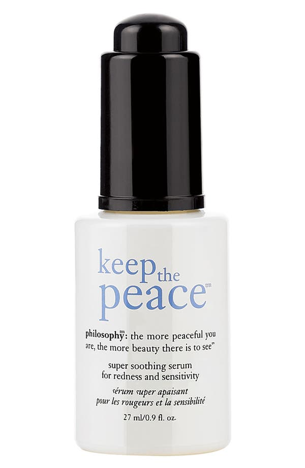 Main Image - philosophy 'keep the peace' super soothing serum for redness and sensitivity
