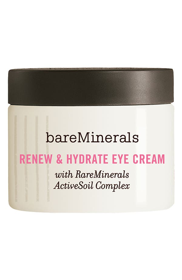 Alternate Image 1 Selected - bareMinerals® 'Renew & Hydrate' Eye Cream