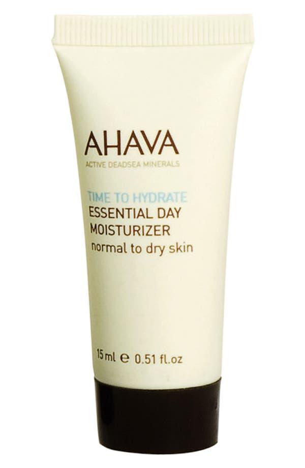 Main Image - AHAVA Essential Day Moisturizer (Normal to Dry Skin) (0.51 oz.)