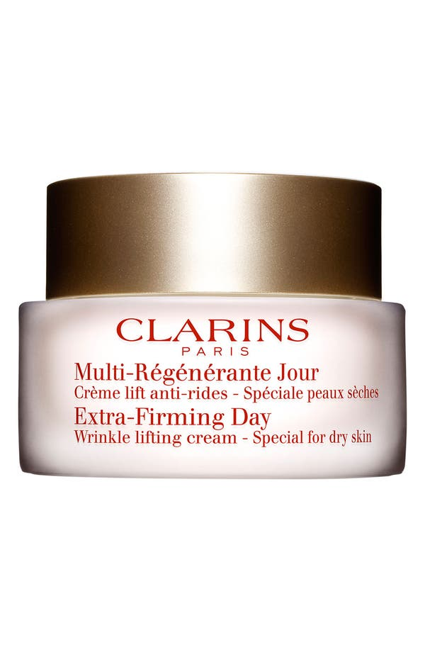 Main Image - Clarins 'Extra-Firming' Day Wrinkle Lifting Cream for Dry Skin