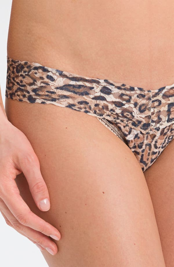 Alternate Image 3  - Hanky Panky 'Leopard' Low Rise Thong