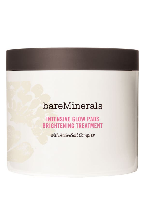 Alternate Image 1 Selected - Bare Escentuals® bareMinerals® 'Intensive Glow Pads' Brightening Treatment