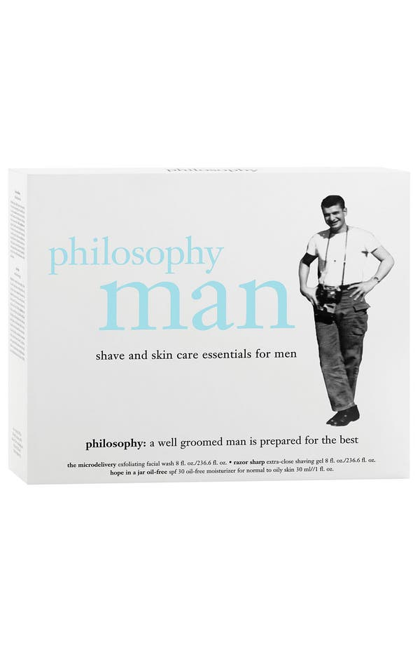 Alternate Image 2  - philosophy 'man' shave & skin care essentials set ($71 Value)