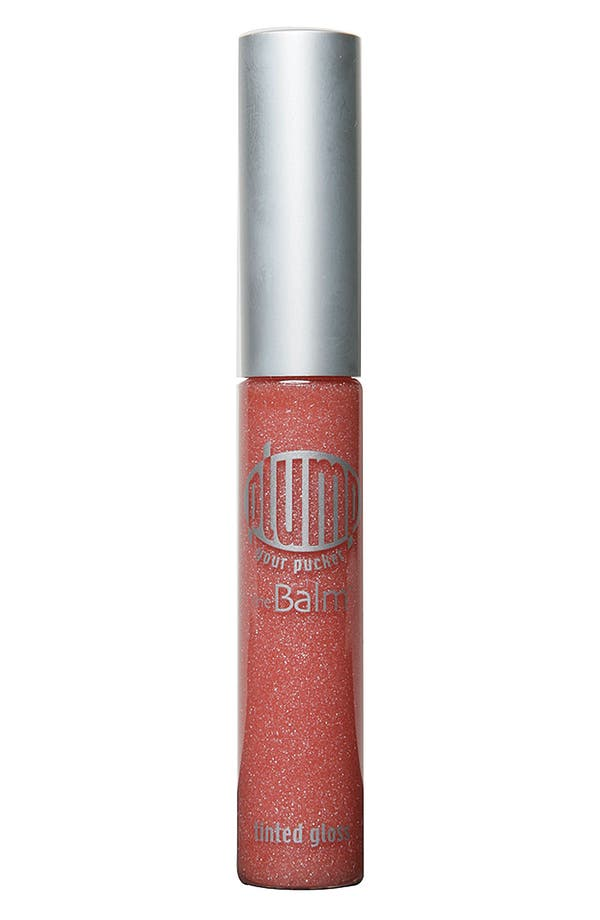 Alternate Image 1 Selected - theBalm 'Plump Your Pucker®' Tinted Lip Gloss