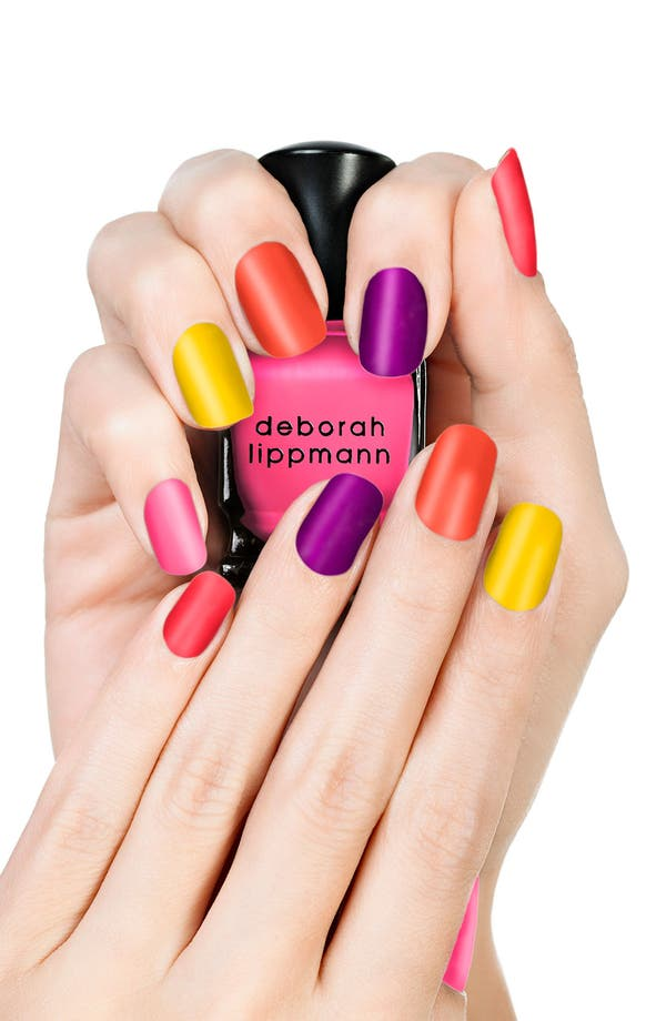 Alternate Image 2  - Deborah Lippmann 'Run the World (Girls)' Neon Mini Nail Lacquer Set