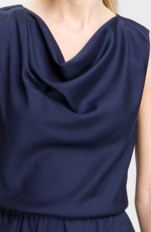 Alternate Image 3  - Valette Drape Neck Twill Dress