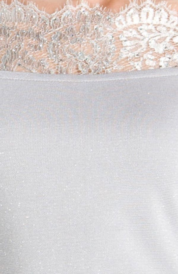 Alternate Image 3  - St. John Collection Shimmer Milano Knit Dress