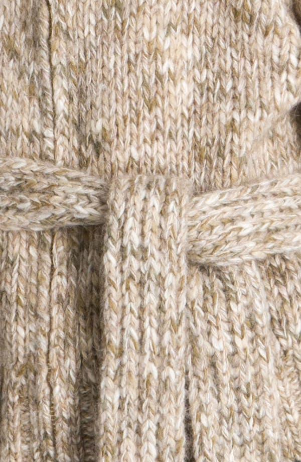 Alternate Image 3  - St. John Yellow Label Belted Tweed Knit Cardigan