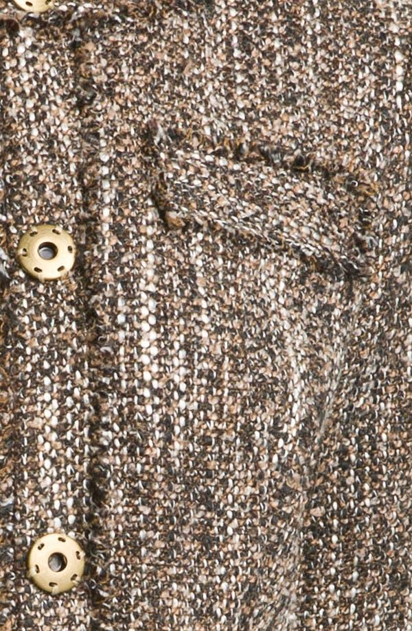 Alternate Image 3  - MICHAEL Michael Kors Tweed Knit Jacket