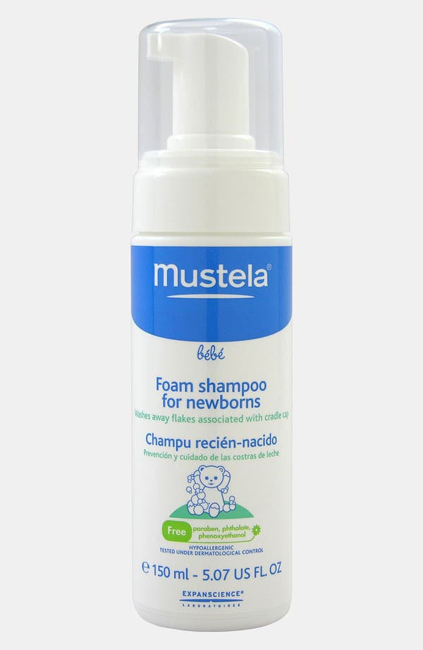 Alternate Image 1 Selected - Mustela® Foam Shampoo for Newborns