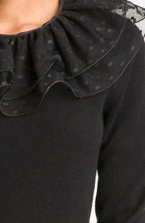Alternate Image 2  - MARC BY MARC JACOBS 'Sonia' Lace Collar Sweater