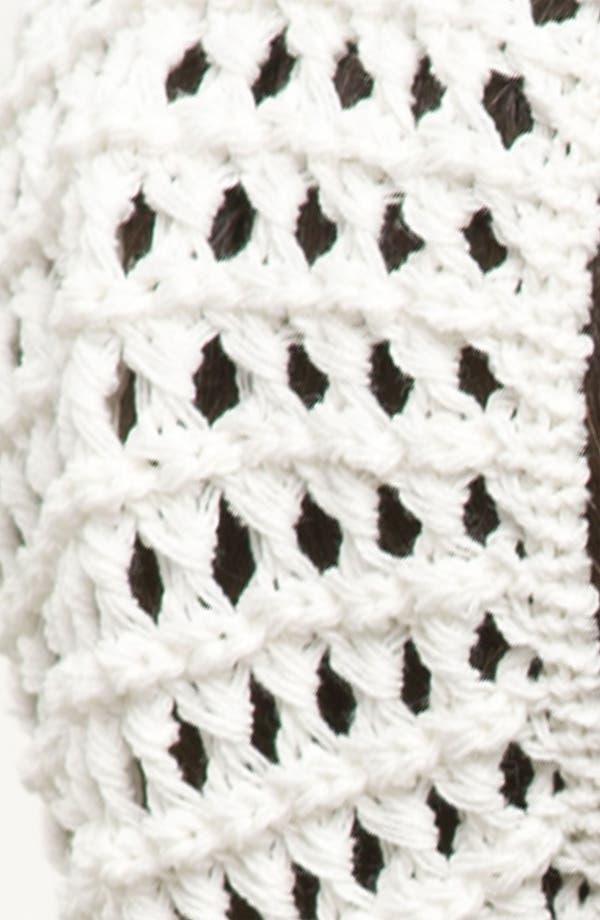 Alternate Image 2  - Cara Crochet Beanie