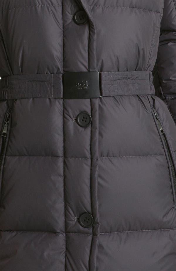 Alternate Image 3  - Add Down Faux Fur Trim Coat