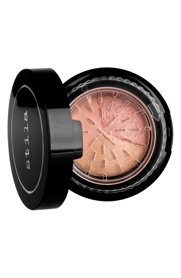 Alternate Image 1 Selected - stila 'set & illuminate' baked setting powder