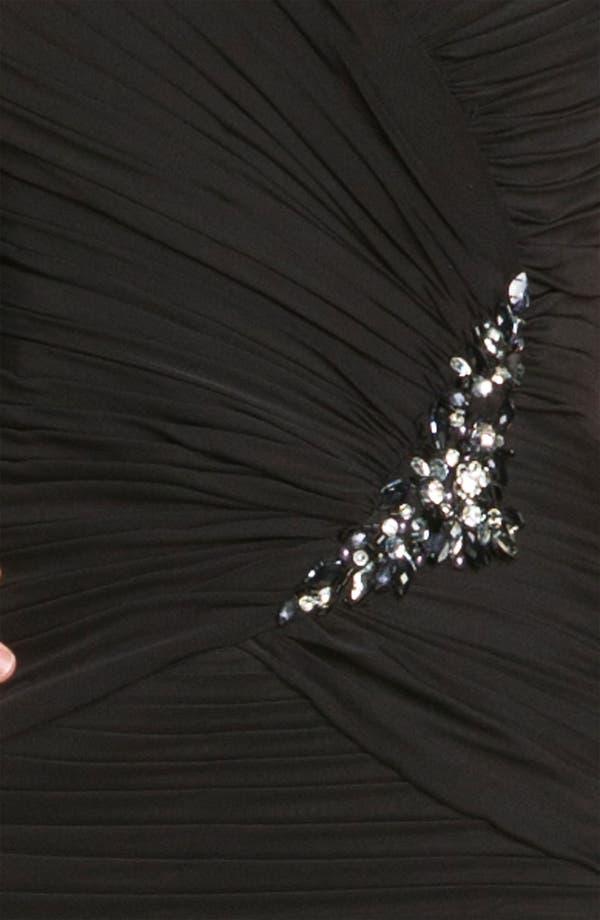 Alternate Image 3  - Veni Infantino Off the Shoulder Ruched Mesh Dress