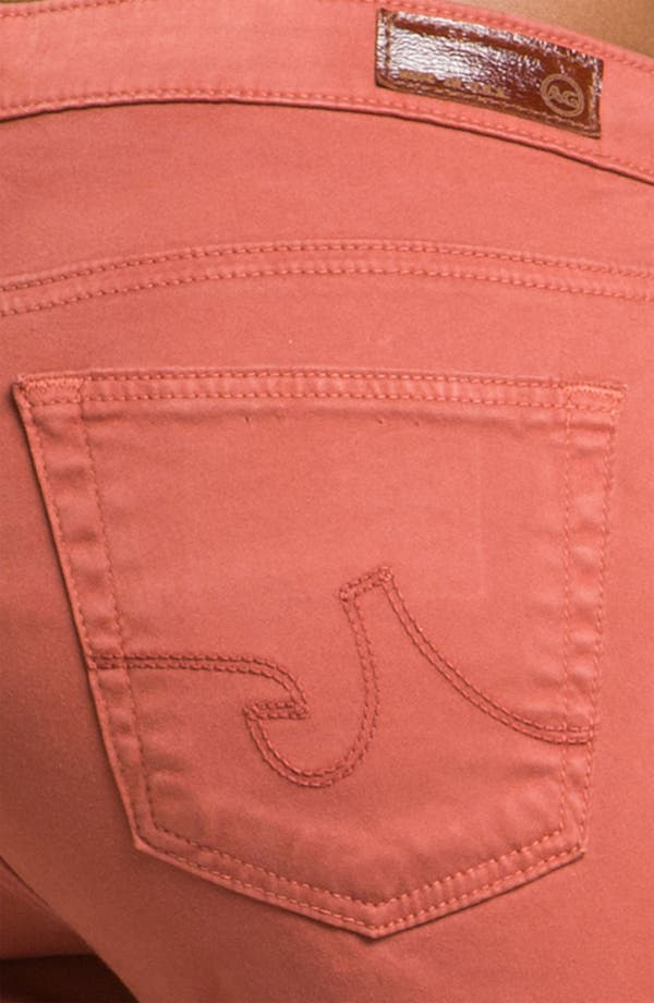 Alternate Image 3  - AG 'Stilt' Skinny Ankle Jeans (Red Rock Sateen)