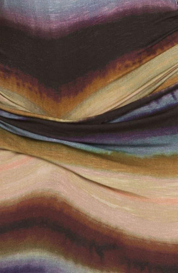 Alternate Image 3  - Young, Fabulous & Broke 'Hamptons' Tie Dyed Stripe Maxi Dress