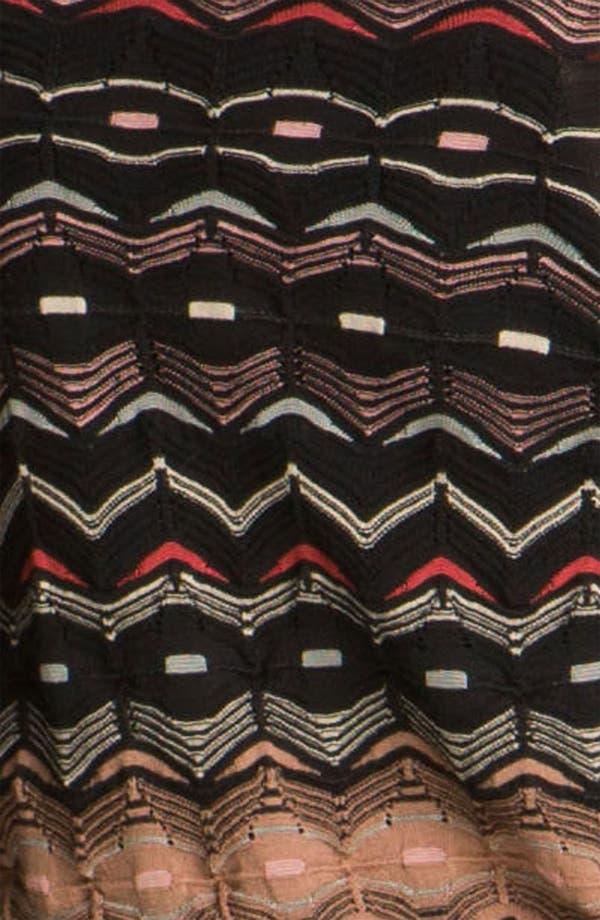 Alternate Image 3  - M Missoni Pointelle Wave Cardigan