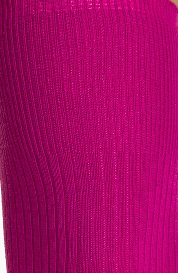 Alternate Image 2  - Hue Ribbed Over the Knee Socks