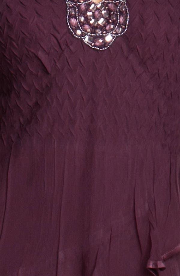 Alternate Image 3  - Komarov Embellished Tiered Chiffon Dress