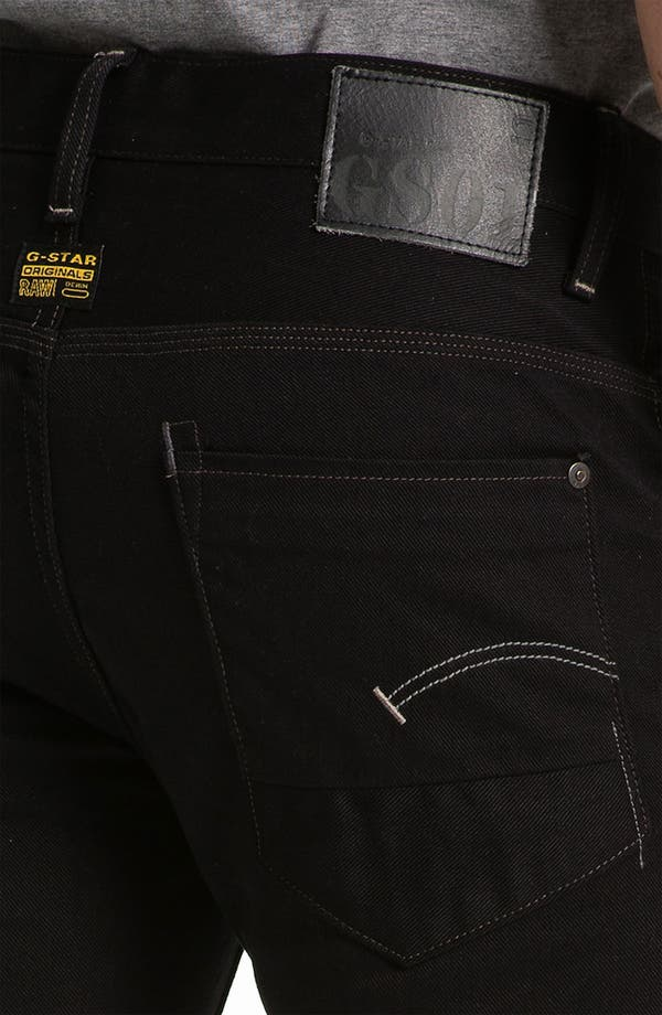 Alternate Image 4  - G-Star Raw 'New Rader' Straight Leg Jeans (3D Raw)