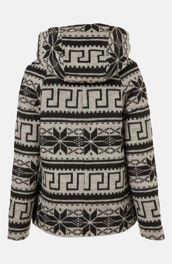 Alternate Image 2  - Topshop Nordic Jacket