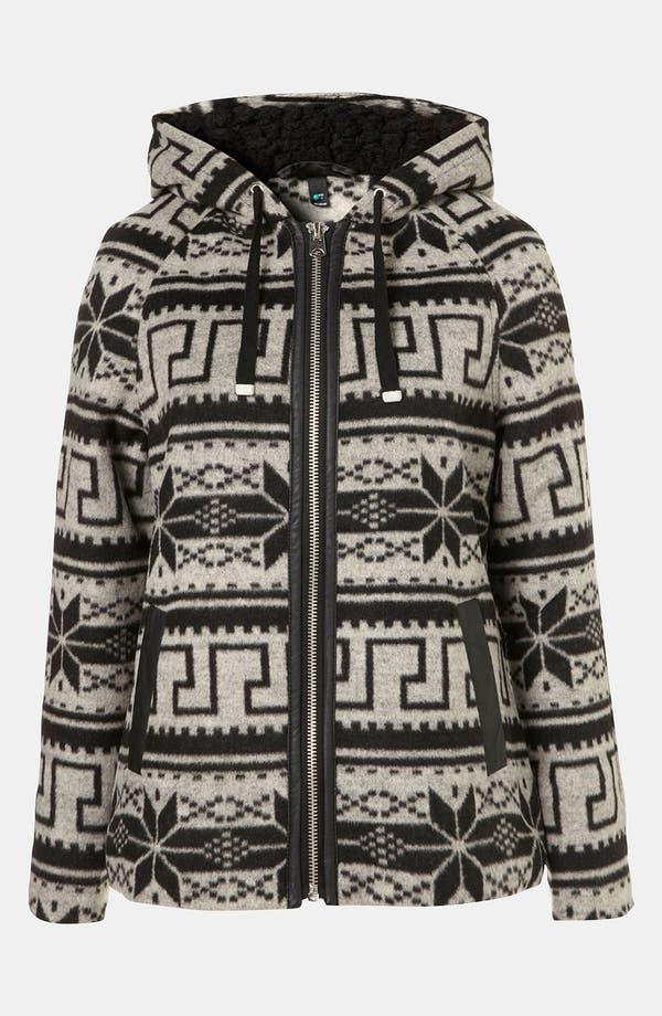 Alternate Image 1 Selected - Topshop Nordic Jacket