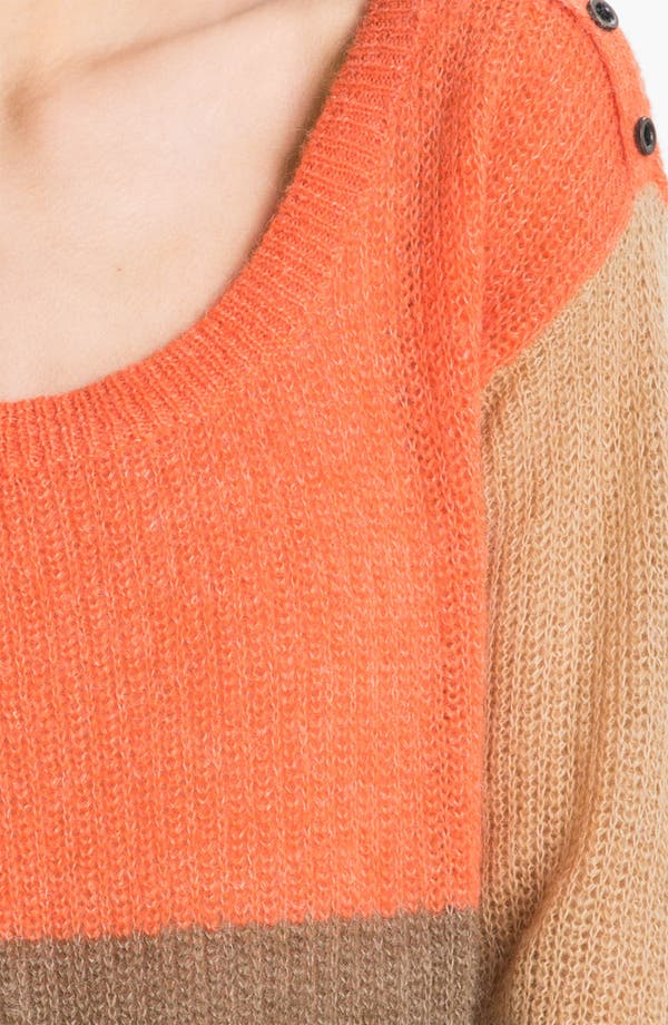 Alternate Image 3  - Splendid Colorblock Sweater