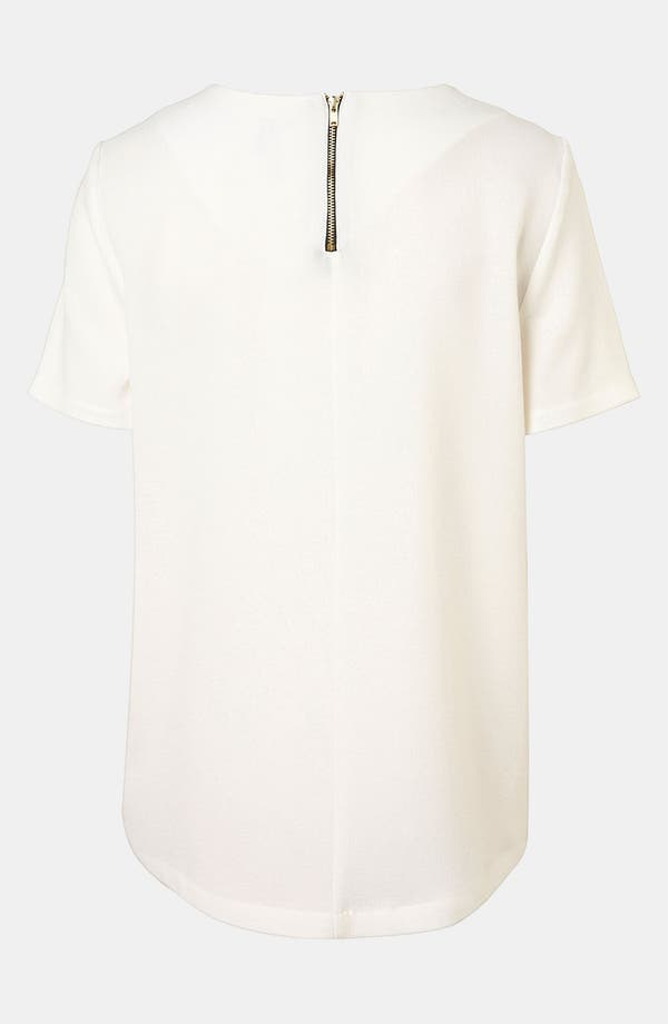 Alternate Image 2  - Topshop Crepe Tee