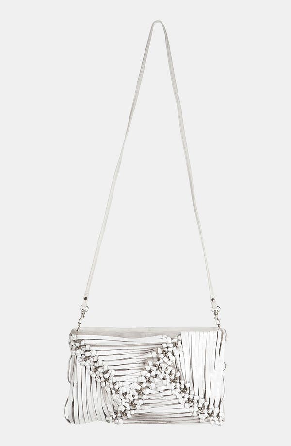 Alternate Image 2  - Topshop Strappy Leather Clutch