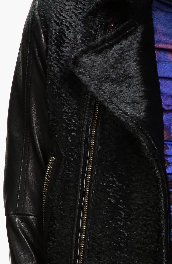 Alternate Image 3  - Rebecca Minkoff Genuine Calf Hair & Leather Jacket