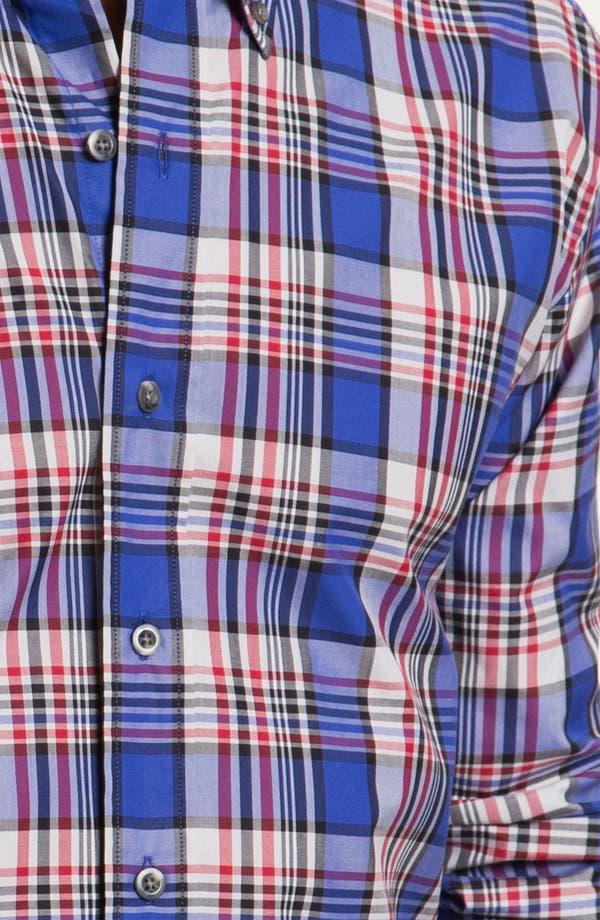 Alternate Image 3  - Cutter & Buck 'Whistler' Plaid Woven Shirt