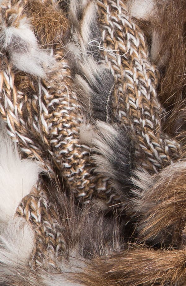 Alternate Image 2  - Collection XIIX Mixed Faux Fur Muffler