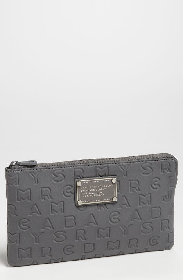 Main Image - MARC BY MARC JACOBS 'Dreamy Logo' Neoprene Pouch