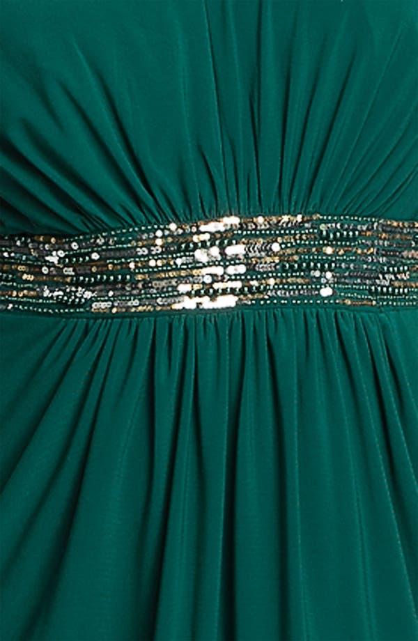 Alternate Image 3  - Alex Evenings Beaded Cap Sleeve Sheath Dress (Plus)