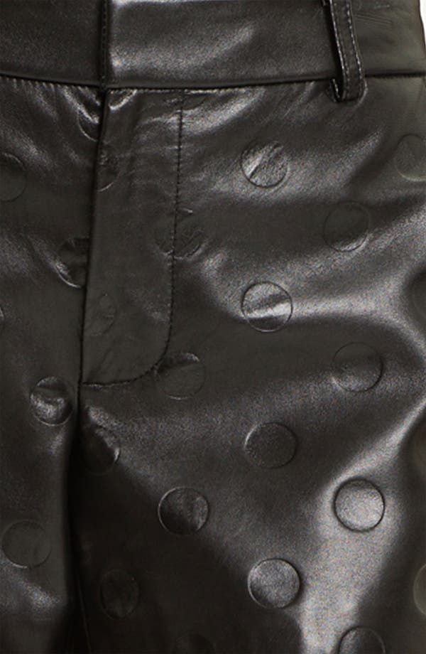 Alternate Image 3  - MARC BY MARC JACOBS 'Gia' Dot Leather Shorts