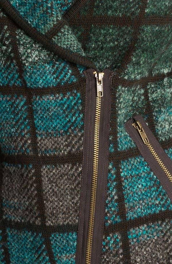 Alternate Image 3  - Curio Tweed Knit Moto Jacket