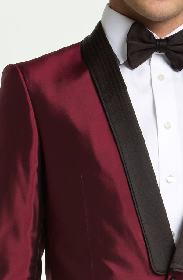Alternate Image 3  - Versace Trim Fit Dinner Jacket