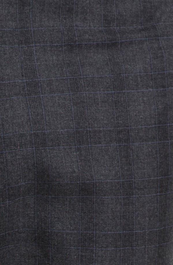 Alternate Image 4  - Armani Collezioni Plaid Print Wool Trousers