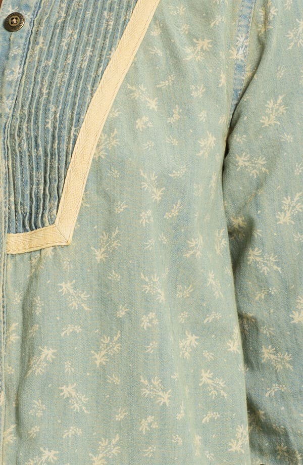 Alternate Image 3  - Free People Bleached Chambray Tux Shirt