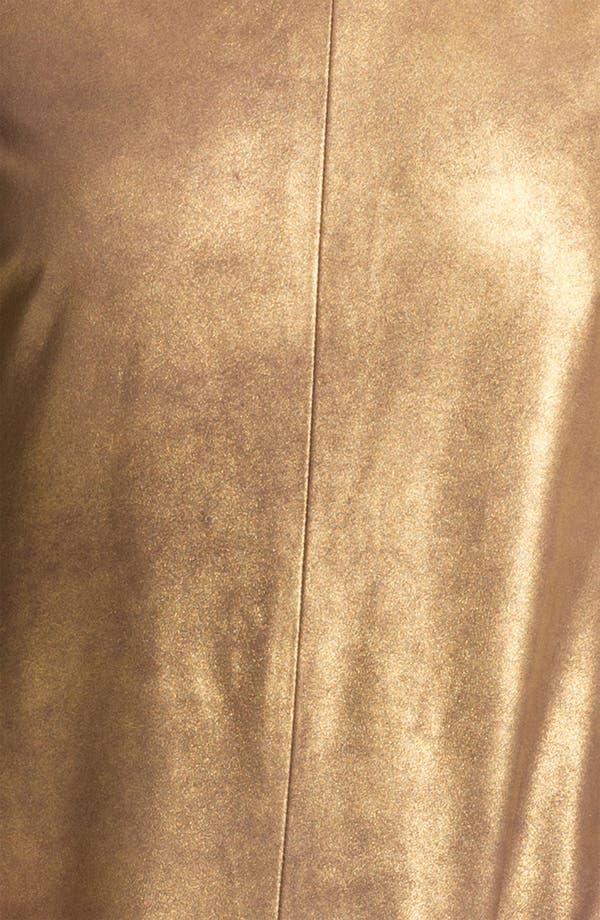 Alternate Image 3  - Rebecca Minkoff 'Rick' Metallic Leather Shift Dress