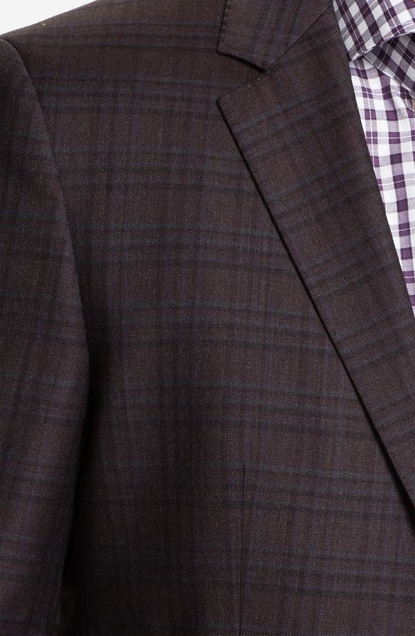 Alternate Image 3  - BOSS Black 'James' Trim Fit Plaid Sportcoat