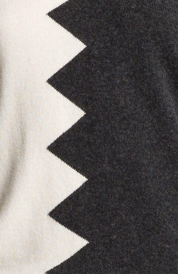 Alternate Image 3  - Kelly Wearstler 'Zigzag Slither' V-Neck Pullover