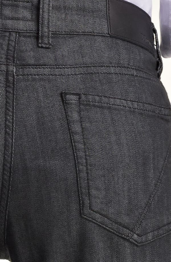 Alternate Image 4  - Z Zegna Straight Leg Jeans (Blue)