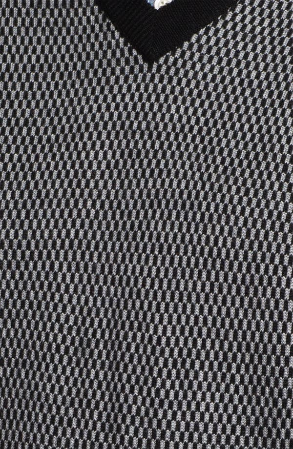 Alternate Image 3  - Toscano Merino Wool Blend Sweater Vest