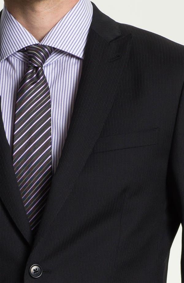 Alternate Image 6  - John Varvatos Star USA 'Berkley' Trim Fit Stripe Suit