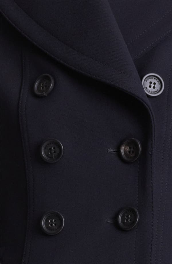 Alternate Image 3  - Burberry Prorsum Double Breasted Peacoat