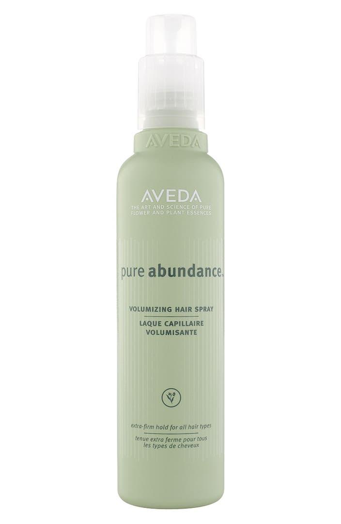 Aveda 39 pure abundance 39 volumizing hair spray nordstrom - Alternative uses of hairspray ...