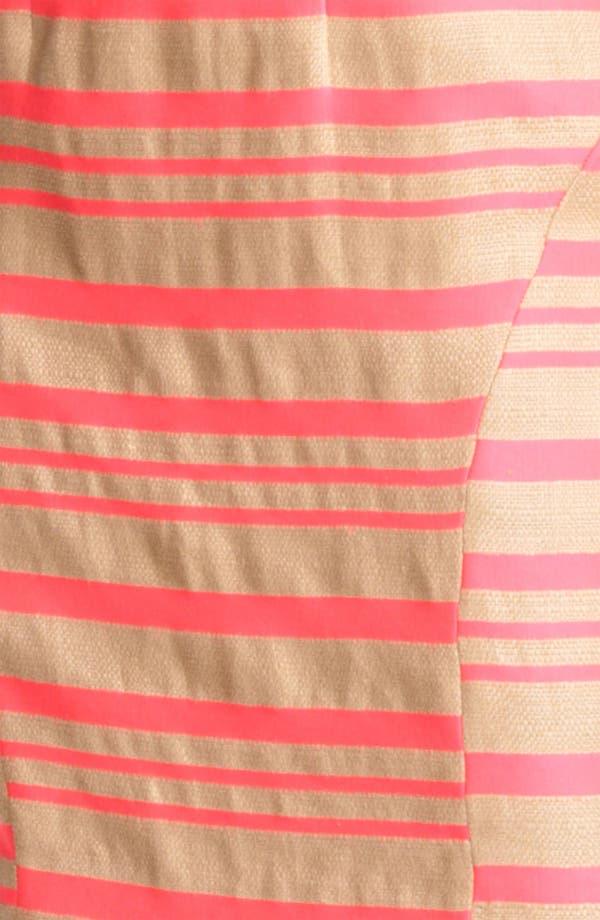 Alternate Image 3  - Thakoon Pink Stripe Sleeveless Sheath Dress